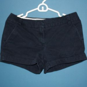Navy Blue Chino Short